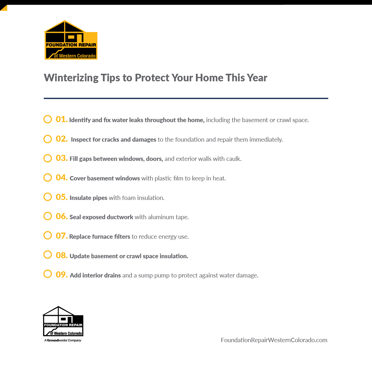 winterizing tips to protect your home